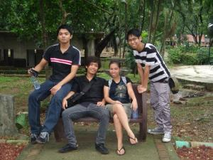hamster, otep, pating, ax  from left to right